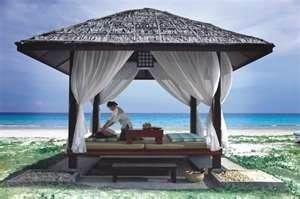 masaz na plazi